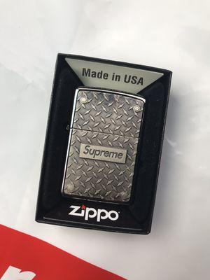 DS Supreme Diamond Plate Zippo Metal for Sale in Seattle, WA