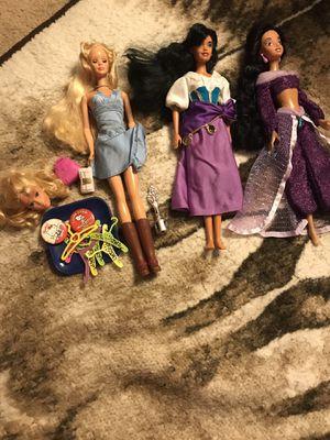 Disney princesses vintage Barbie for Sale in San Diego, CA