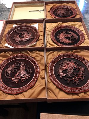 The five perceptions of weo cho decorative plates for Sale in Chicago, IL