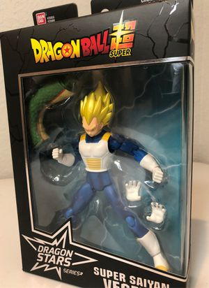 Dragonball Z Ban Dai Action Figure Super Saiyan Vegeta NEW for Sale in Leander, TX