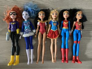Dc Superhero girls doll lot for Sale in Elk Grove, CA