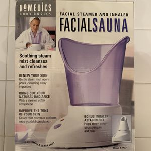 Homedics Facialsauna - Facial Steamer and Inhaler for Sale in Novi, MI