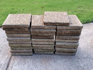 """12"""" square patio blocls FREE 31 PCS for Sale in Powder Springs, GA"""