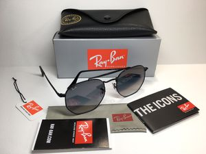 Ray Ban Marshal 2/71 Black with Light Grey Gradient Lens Sunglasses RB3648 Arm Length 145mm Lens 54mm / Bridge 21mm for Sale in Alhambra, CA