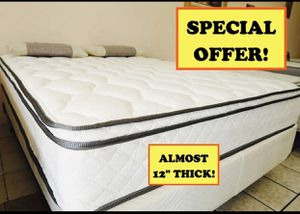 Mattress - Deluxe Pillow Top - Hablamos Español for Sale in Maplewood, MN