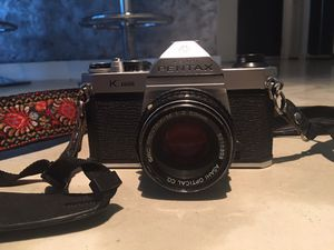 Pentax K1000 Camera with 50mm for Sale in Austin, TX