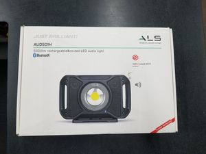 Led Work Light With Bluetooth Speaker for Sale in Irving, TX