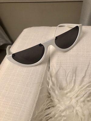 Retro White Frame Sunglasses for Sale in Atlanta, GA