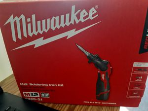 Milwauke soldering iron kit for Sale in San Diego, CA