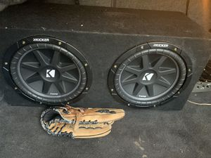 Kicker subwoofers for Sale in Providence, RI