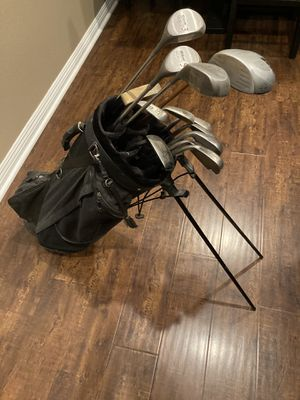 Wilson 1200LT golf club set and bag for Sale in Corona, CA