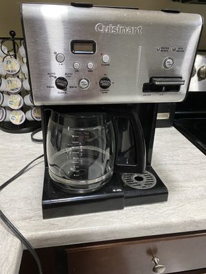 Cuisinart Coffee Maker/Stainless Steel for Sale in Princeton, FL