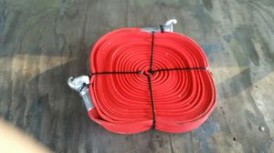 Red hose 50 ft quick couplers commercial for Sale in Spanaway, WA