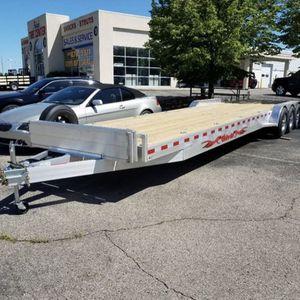 Wolverine aluminum trailer 2 car hauler for Sale in Paradise Valley, AZ