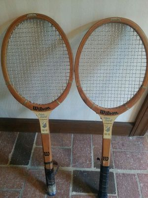Vintage Tennis Rackets for Sale in Willow Spring, NC