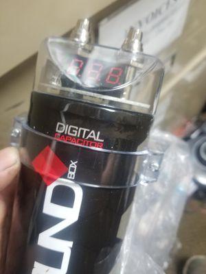 Soundbox digital capacitor 2.5 farad for Sale in Carson, CA