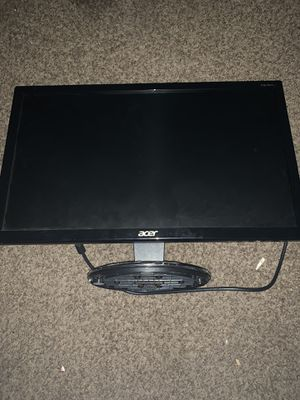 acer MONITOR ONLY for Sale in Fresno, CA