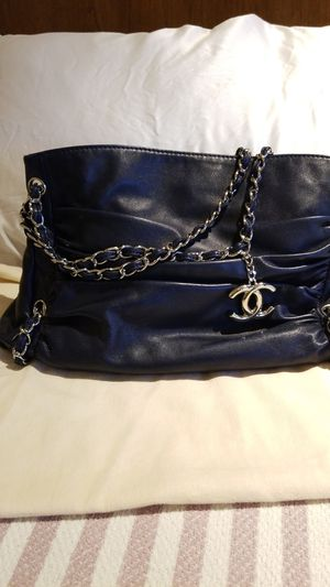 Chanel navy lambskin hobo for Sale in Fort Lauderdale, FL