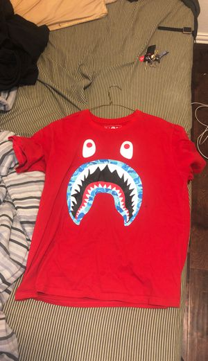 Bape shark shirt for Sale in Arlington, TX