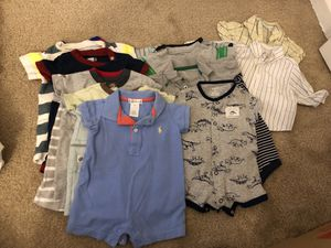 0-3 month boy clothing lot for Sale in North Potomac, MD