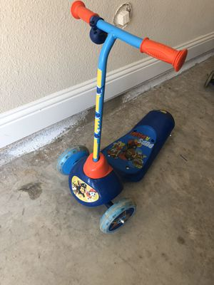 Paw Patrol Electric Scooter for Sale in Little Elm, TX