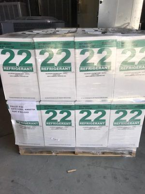 R22 amtrol sealed new In box! 30lbs Liquid freon for Sale in Riverside, CA