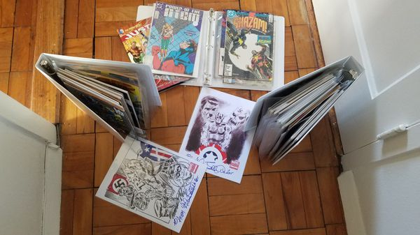 Marvel & DC comic books