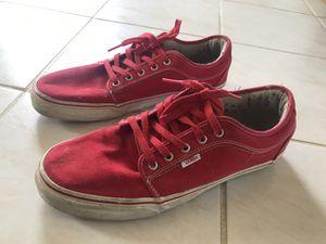 Red Vans Sneakers for Sale in Rhinelander, WI