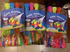 WATER BALLOONS for Sale in Moreno Valley, CA