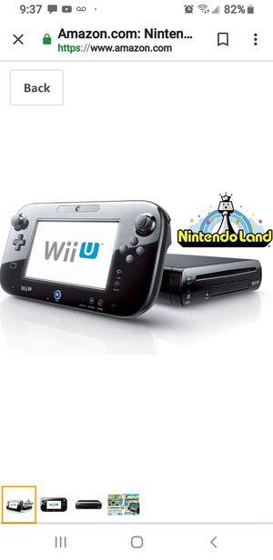 Wii u Nintendo including 5 games for Sale in Walpole, MA