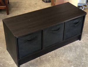 Bench Storage Cubicle Shelf Shelving Chair for Sale in Rocklin, CA