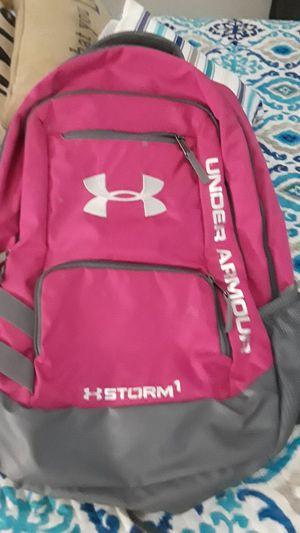 Pink under amour backpack/mochila rosada for Sale in Tampa, FL