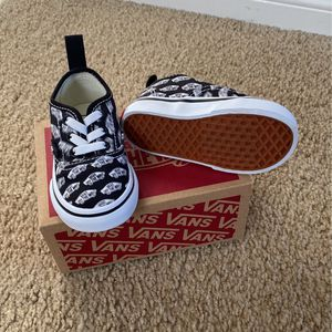 Vans Slip Ons Blur Boards Toddler Size 4.5 for Sale in Rancho Cucamonga, CA