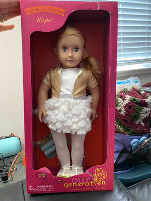 "New Our Generation Hope 18"" Doll! for Sale in Pittsburg, CA"