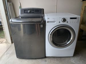 LG washer and dryer for Sale in San Antonio, TX