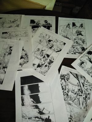 comic book art for Sale in Lake Mary, FL