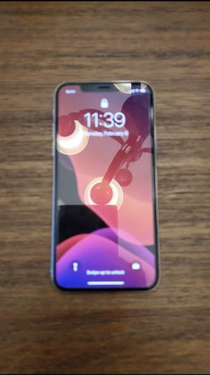 Sprint iPhone X 256GB with Mophie extended battery case for Sale in Olathe, KS