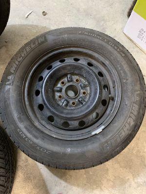 Michelin tire with rim for Sale in San Jose, CA
