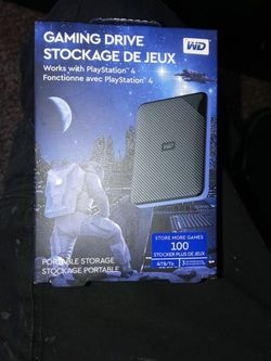 4TB Ps4 External Hard Drive for Sale in Denver,  CO