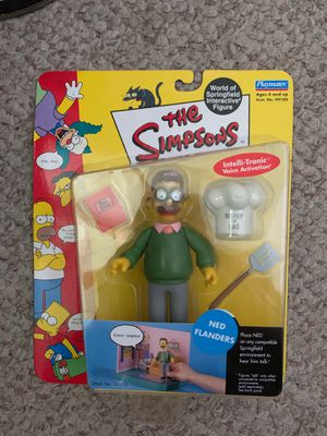 2000 Ned Flanders Playmates Toy Figure The Simpsons for Sale in El Paso, TX