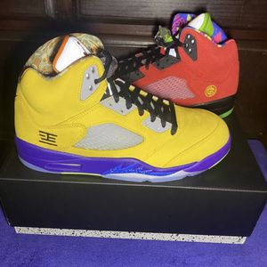 "Jordan Retro 5 ""what the"" Size 9 for Sale in Los Angeles, CA"