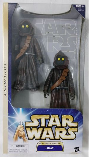 """NEW 6.5"""" JAWAS Star Wars 12"""" scale Action Figure HASBRO 2003 for Sale in Homestead, FL"""