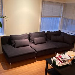 Dark Grey Couch for Sale in Seattle,  WA