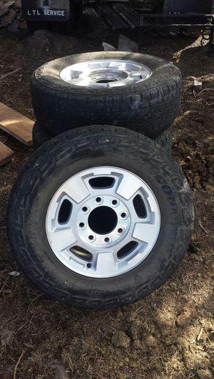 Tires 8 lug Denali tire rims for Sale in Eagar, AZ