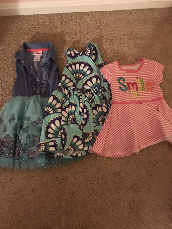2T and 3T girls clothes