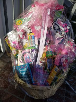 Hello Kitty basket of fun and educational toys for Sale in Colma, CA