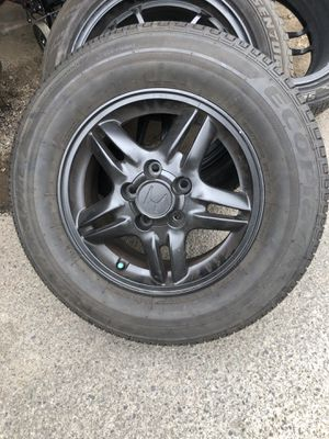 Honda wheels with New tires for Sale in Irvine, CA