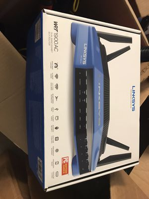 Linksys ac1900 WiFi router with dd wrt installed for Sale in Pompano Beach, FL
