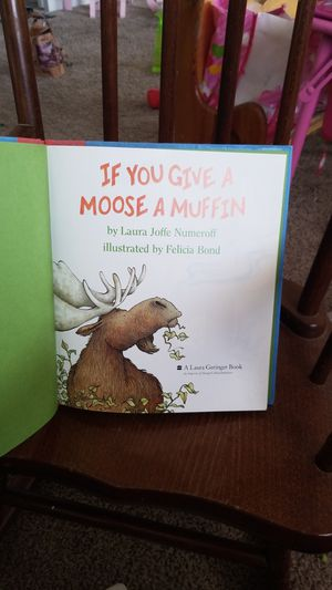 Moose a muffin book for Sale in Las Vegas, NV