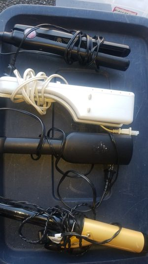 Hair straightener and hair curlers $3 each for Sale in Covington, WA